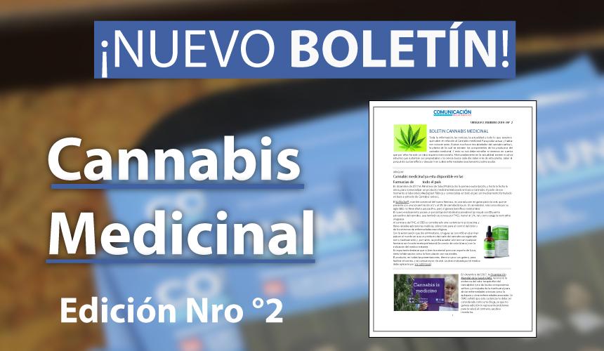 Boletín edición N°2 - Cannabis Medicinal