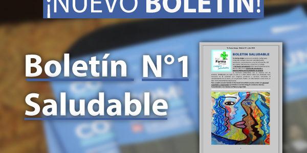 Boletín Saludable - Tu Farma Amiga N°1